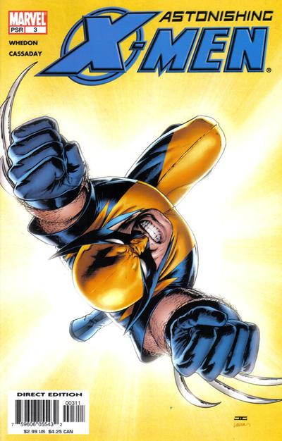 Cover for Astonishing X-Men (Marvel, 2004 series) #3