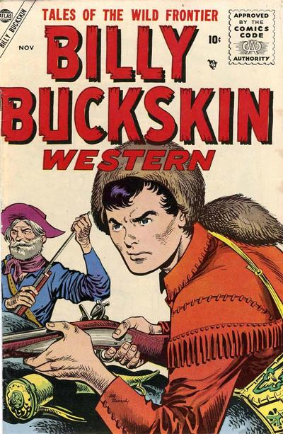 Cover for Billy Buckskin (Marvel, 1955 series) #1