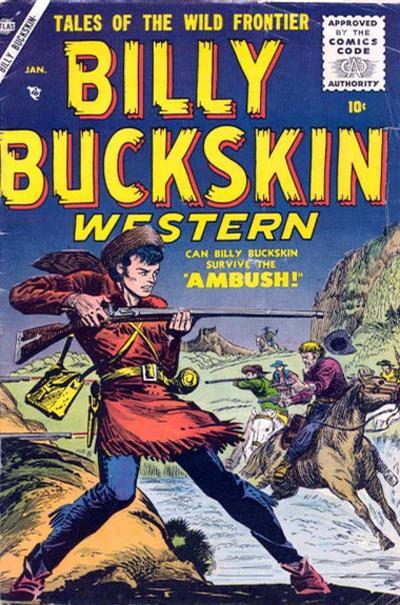 Cover for Billy Buckskin (Marvel, 1955 series) #2