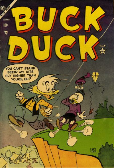 Cover for Buck Duck (Marvel, 1953 series) #1