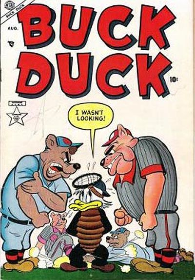 Cover for Buck Duck (Marvel, 1953 series) #2
