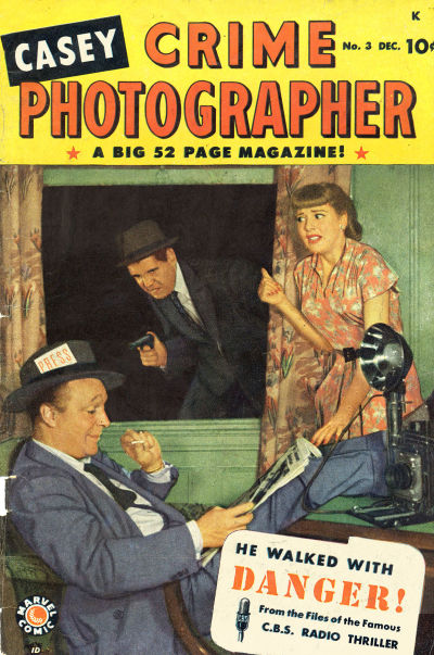 Cover for Casey - Crime Photographer (Marvel, 1949 series) #3