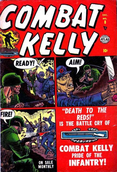 Cover for Combat Kelly (Marvel, 1951 series) #8