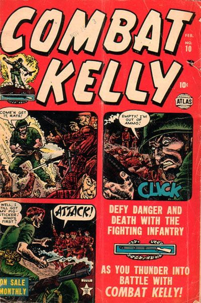 Cover for Combat Kelly (Marvel, 1951 series) #10