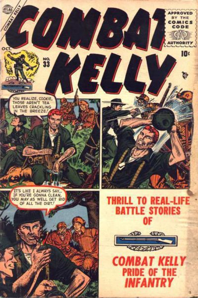 Cover for Combat Kelly (Marvel, 1951 series) #33