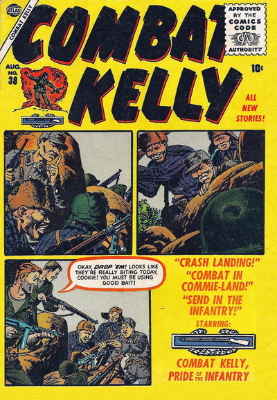 Cover for Combat Kelly (Marvel, 1951 series) #38