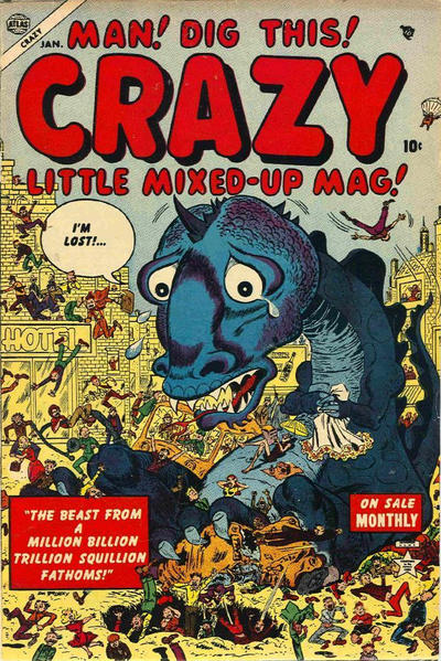 Cover for Crazy (Marvel, 1953 series) #2