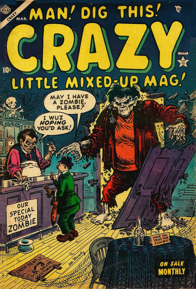 Cover for Crazy (Marvel, 1953 series) #4