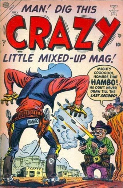 Cover for Crazy (Marvel, 1953 series) #7