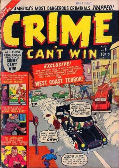 Cover for Crime Can't Win (Marvel, 1950 series) #6