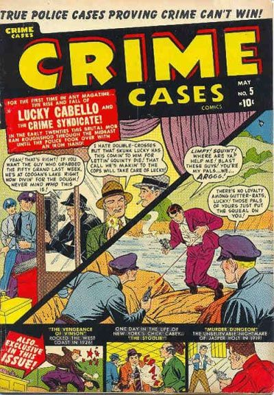 Cover for Crime Cases Comics (Marvel, 1950 series) #5