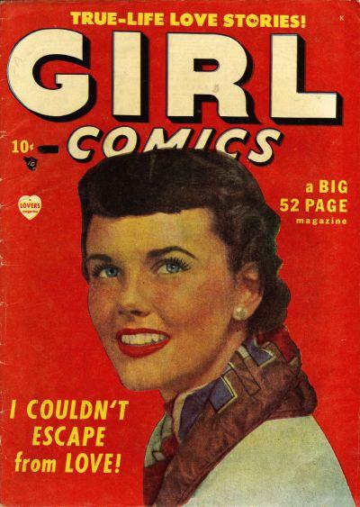 Cover for Girl Comics (Marvel, 1949 series) #1