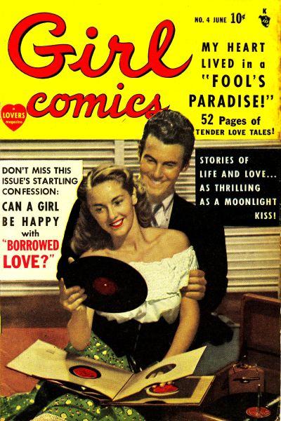 Cover for Girl Comics (Marvel, 1949 series) #4