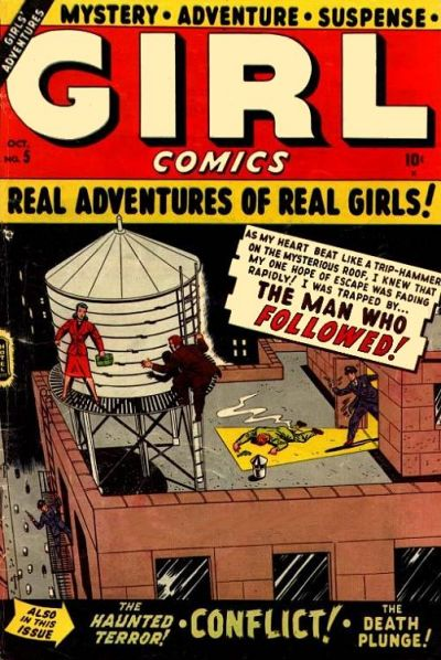 Cover for Girl Comics (Marvel, 1949 series) #5