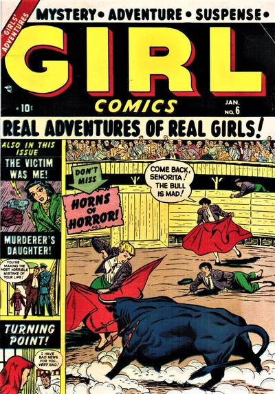 Cover for Girl Comics (Marvel, 1949 series) #6
