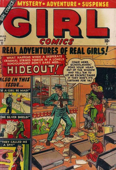 Cover for Girl Comics (Marvel, 1949 series) #7