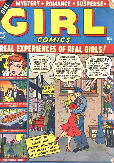 Cover for Girl Comics (Marvel, 1949 series) #8