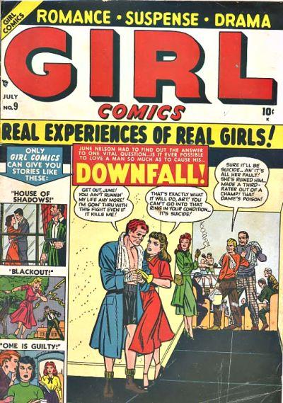 Cover for Girl Comics (Marvel, 1949 series) #9