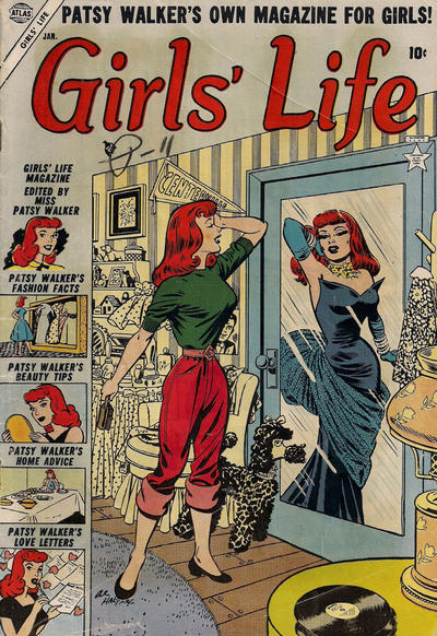 Cover for Girls' Life (Marvel, 1954 series) #1
