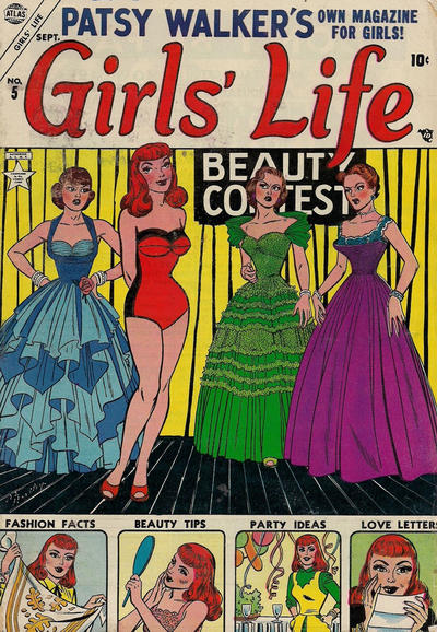 Cover for Girls' Life (Marvel, 1954 series) #5