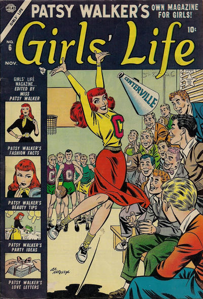Cover for Girls' Life (Marvel, 1954 series) #6