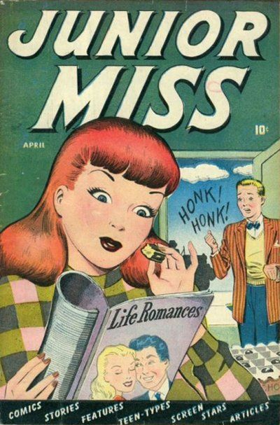 Cover for Junior Miss (Marvel, 1947 series) #24
