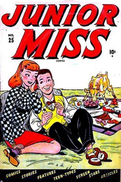 Cover for Junior Miss (Marvel, 1947 series) #25