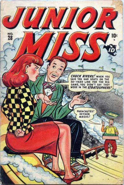 Cover for Junior Miss (Marvel, 1947 series) #28