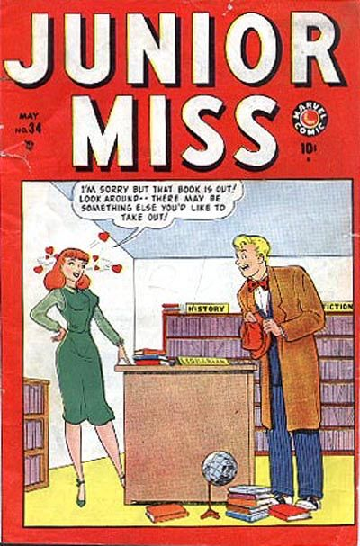 Cover for Junior Miss (Marvel, 1947 series) #34