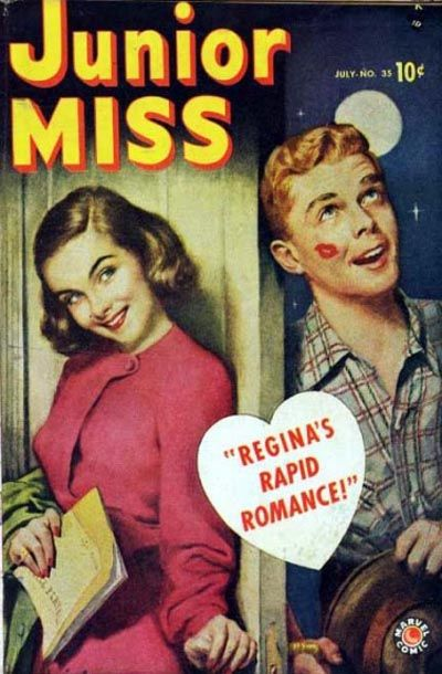 Cover for Junior Miss (Marvel, 1947 series) #35
