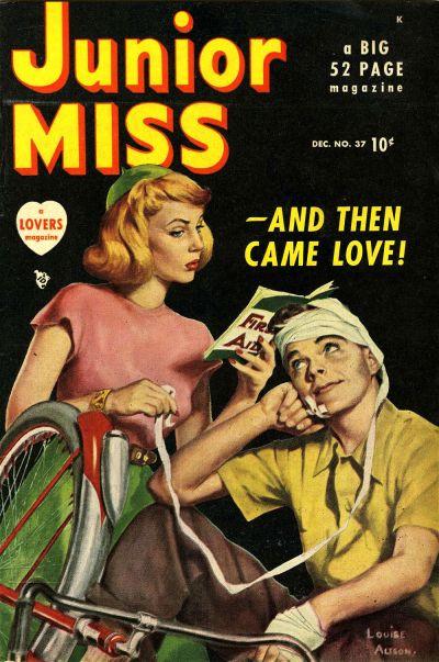 Cover for Junior Miss (Marvel, 1947 series) #37