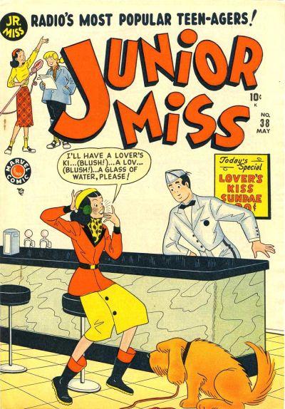 Cover for Junior Miss (Marvel, 1947 series) #38