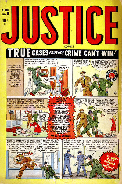 Cover for Justice (Marvel, 1947 series) #9