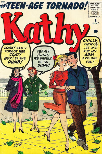 Cover for Kathy (Marvel, 1959 series) #5
