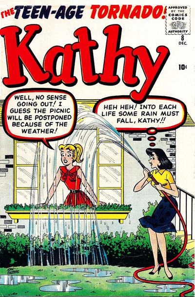 Cover for Kathy (Marvel, 1959 series) #8