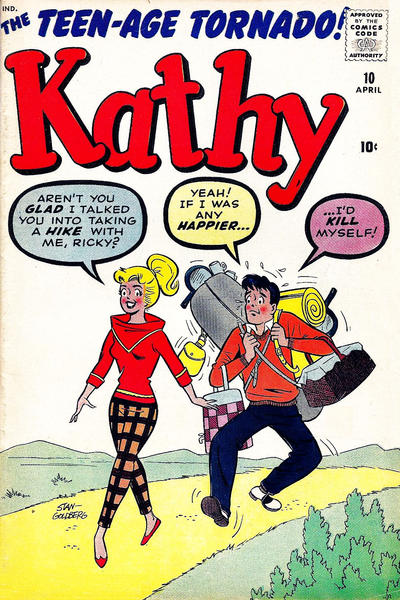 Cover for Kathy (Marvel, 1959 series) #10