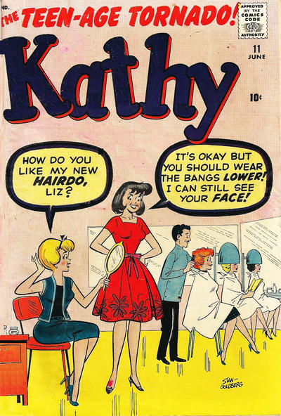 Cover for Kathy (Marvel, 1959 series) #11