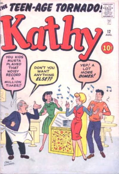 Cover for Kathy (Marvel, 1959 series) #12