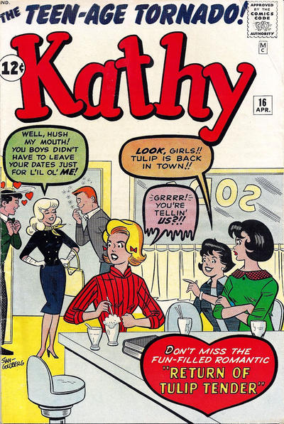 Cover for Kathy (Marvel, 1959 series) #16