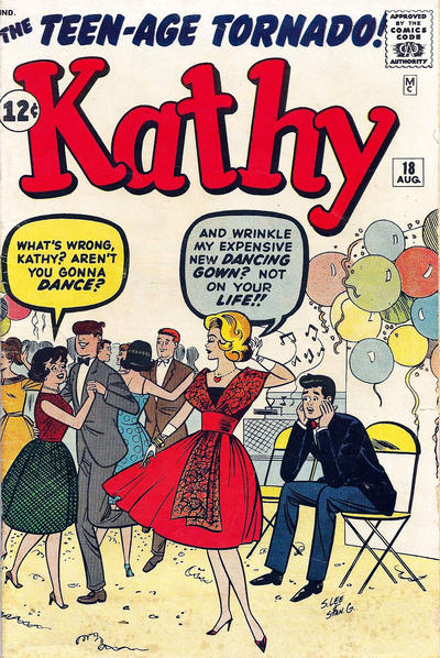 Cover for Kathy (Marvel, 1959 series) #18