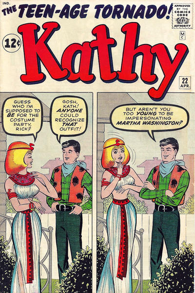 Cover for Kathy (Marvel, 1959 series) #22