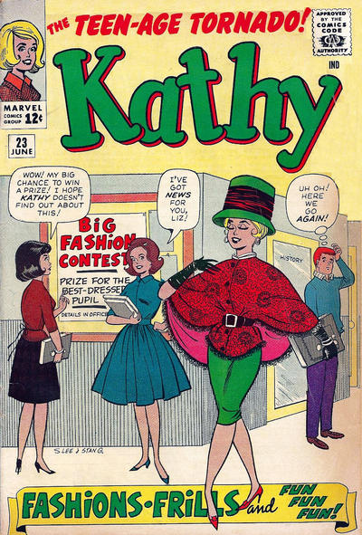 Cover for Kathy (Marvel, 1959 series) #23