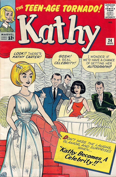 Cover for Kathy (Marvel, 1959 series) #24