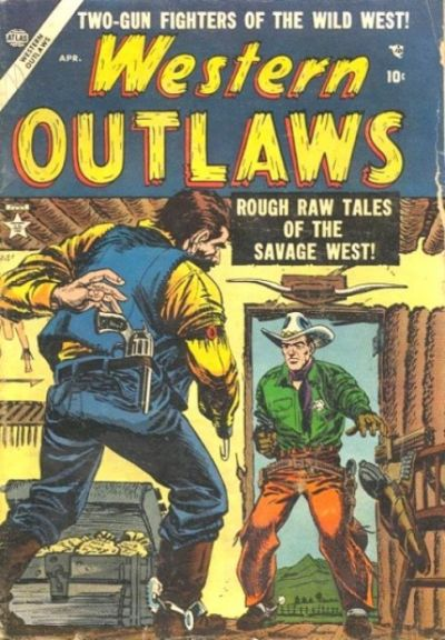 Cover for Western Outlaws (Marvel, 1954 series) #2