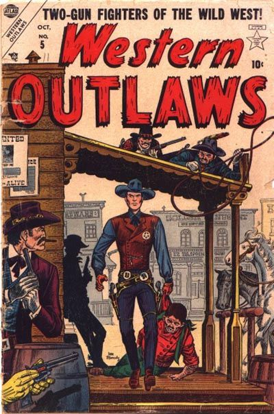 Cover for Western Outlaws (Marvel, 1954 series) #5