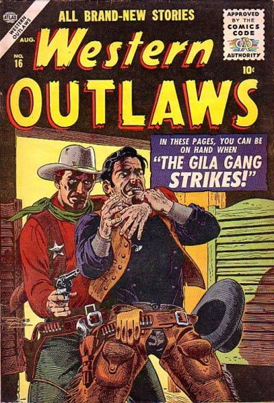 Cover for Western Outlaws (Marvel, 1954 series) #16