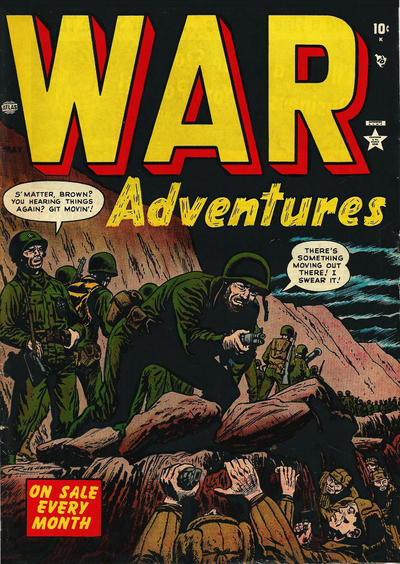 Cover for War Adventures (Marvel, 1952 series) #4