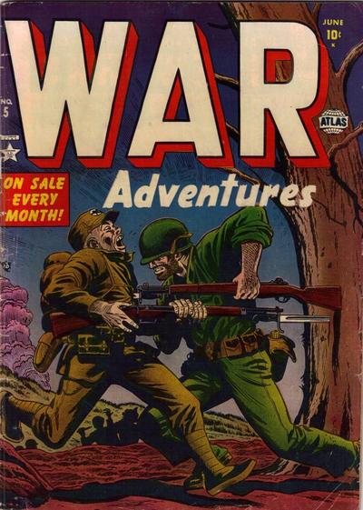Cover for War Adventures (Marvel, 1952 series) #5