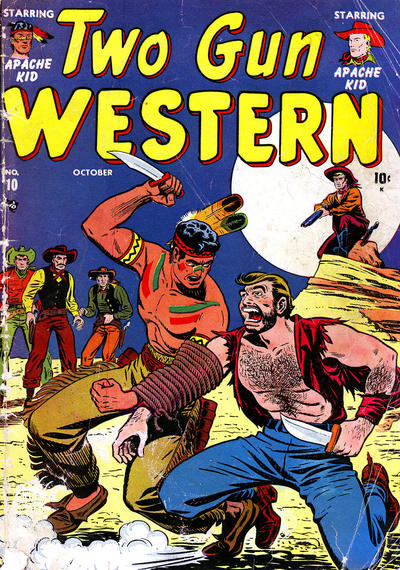 Cover for Two Gun Western (Marvel, 1950 series) #10