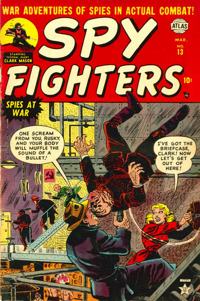 Cover for Spy Fighters (Marvel, 1951 series) #13